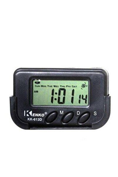 Kenko Dijital Küçük Masa Araba Saati Alarm Kronometre
