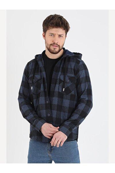 Kışlık Kapşonlu Gömlek 100% Pamuk