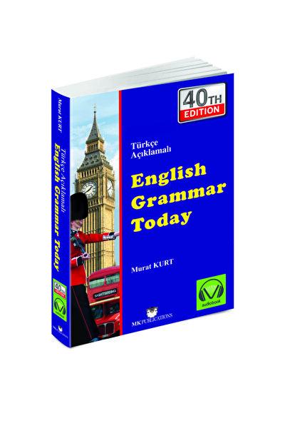 English Grammar Today 40. En Son Yeni Baskı Türkçe Açıklamalı Gramer Kitabı Cevap Anahtarlı