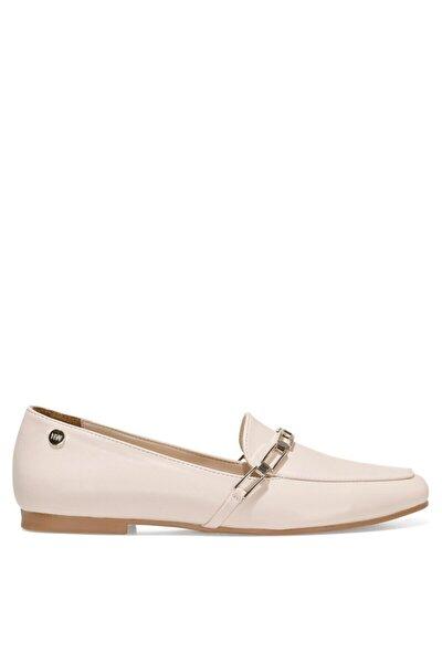 GENDAR 1FX Naturel Kadın Loafer Ayakkabı 101006364
