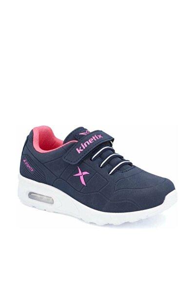 BIRNO Lacivert Neon Pembe Kız Çocuk Sneaker 100298848