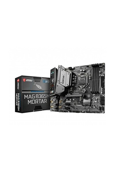 Mag B365m Mortar Intel B365 1151 Soket 2666mhz Ddr4 Usb 3.1 Hdmı Anakart