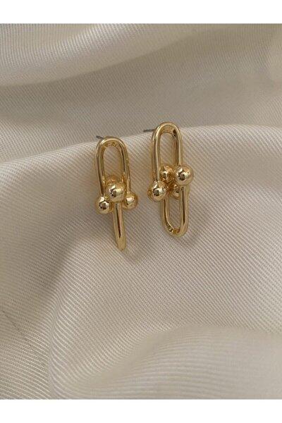 Kadın Gold Renk Tiffany Küpe136