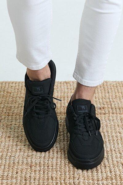 Siyah Unisex Sneaker TBASL-0
