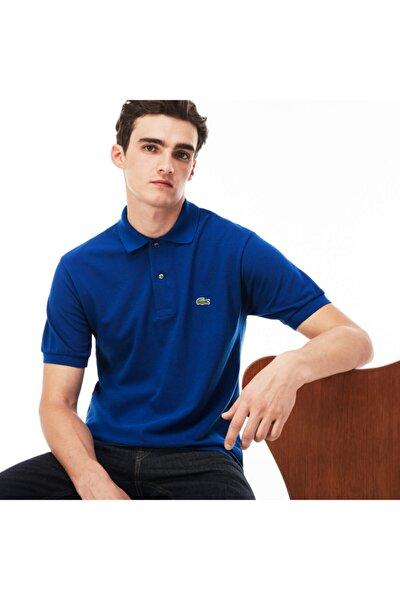 Erkek Klasik Fit L1212 Mavi Polo Yaka T-Shirt