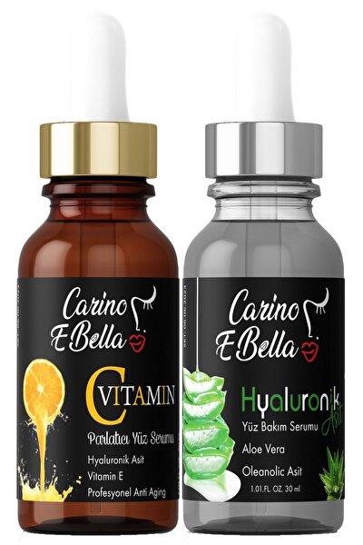 C Vitamini Serum %20 - Hyaluronik Asit Serum %2 Black 30 ml