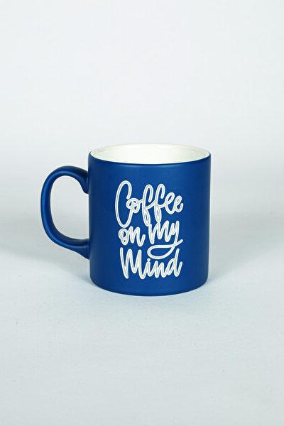 Coffee Kupa Bardak Lacivert 320 Cc