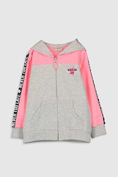 Kız Çocuk Kar Melanj 847 Sweatshirt