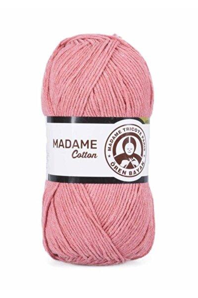 Nar Çiçeği Madame Cotton El Örgü İpi  008