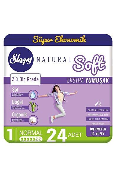 Natural Soft Ekstra Yumuşak Normal(24 Ped)
