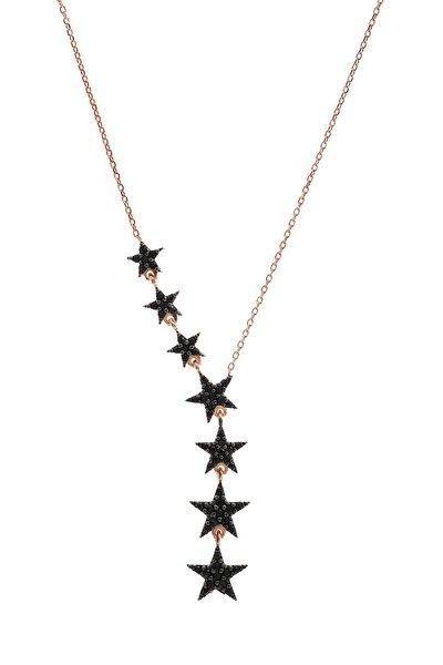 Kadın 7 Yıldızlı   Gümüş Kolye