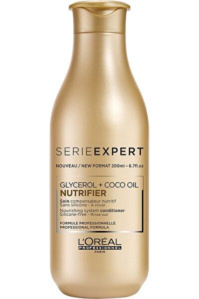 Serie Expert Nutrifier Kuru Saçlar için Nem Yükleyici Bakım Kremi 200 ml