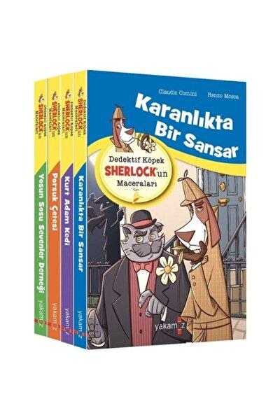 Dedektif Köpek Sherlockun Maceraları Seti (4 Kitap Takım)