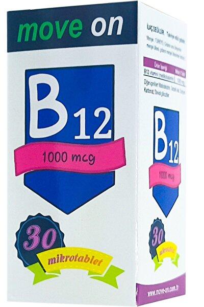 Vitamin B12 1000 Mcg 30 Dilaltı Mikrotablet Skt:2024
