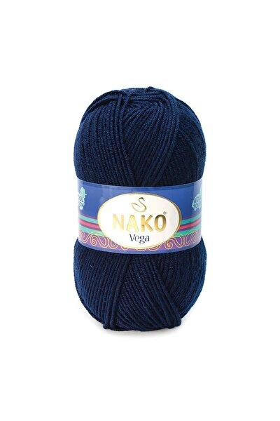 Vega El Örgü Ipi Ipliği Yünü Renk Kodu:1138 Lacivert
