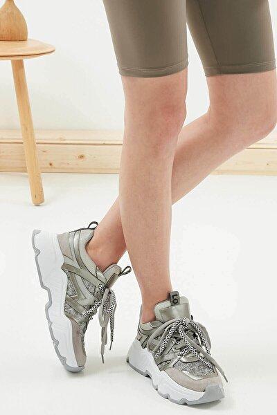 Gail Gümüş Sneaker