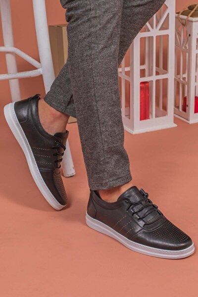 Yağlıoğlu 4245-b Içi Dışı Deri Yumuşak Günlük Erkek Ayakkabı
