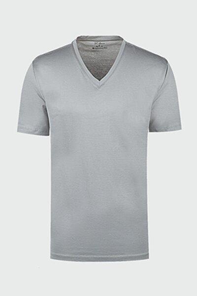 Regular Fit Gri T-shirt