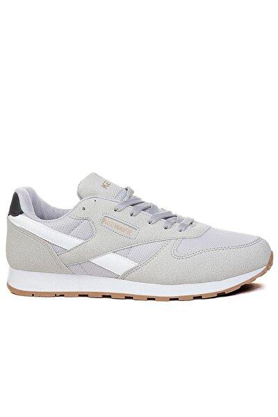 Erkek Gri Beyaz Spor Ayakkabı K853