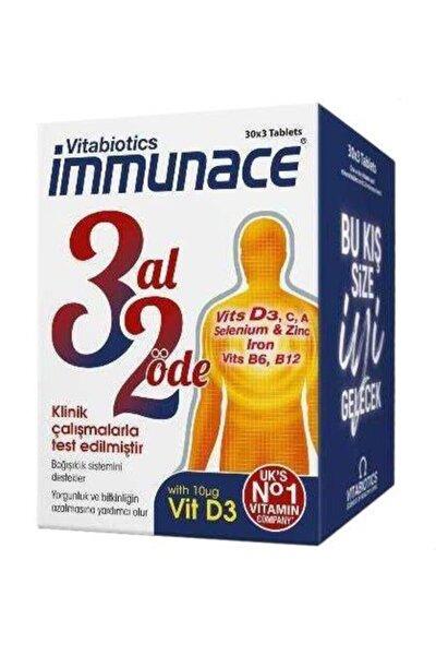 Immunace Original 90 Tablet | 3 Al 2 Öde Avantajlı Paket