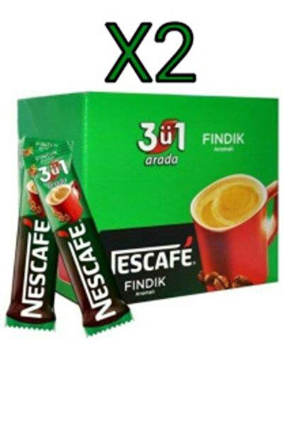Fındık Aromalı 3'ü 1 Arada Hazır Kahve 48'li X2 Adet