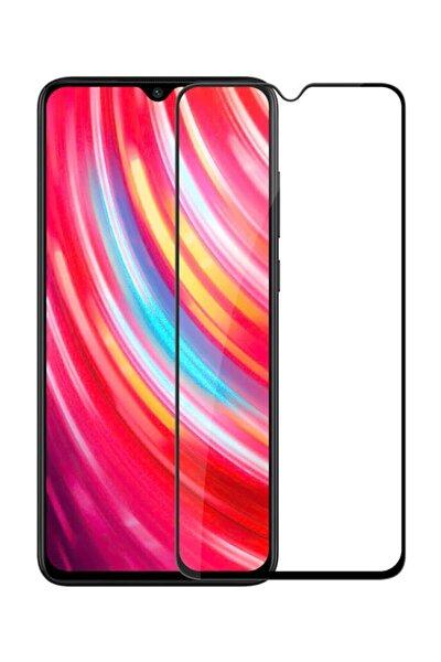 Xiaomi Redmi Note 8 Pro Uyumlu  Kavisli Tam Kaplayan 9h Ekran Koruyucu Temperli Cam