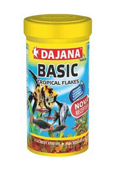 Dajana Tropikal Pul Balık Yemi Basic Flakes 250ml 50gr