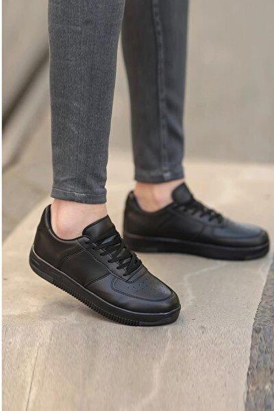 Unisex Siyah Sneaker Ayakkabı