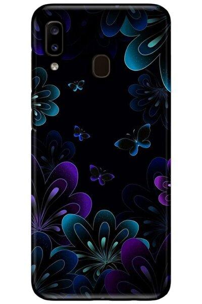 Samsung Galaxy A20 Uyumlu Silikon Baskılı Desenli Arka Kapak