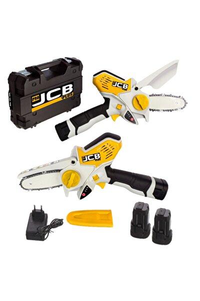 Pro Jcb Plus Magic Saw X-torq 1800 Li-on Akülü Dal Kesme Budama Testere Bıçkı Makinası Çift Akülü