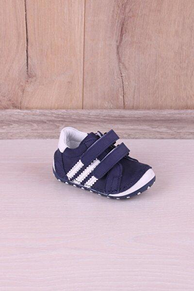 Ortopedik Hakiki Deri El İşçiliği İlk Adım Bebek Ayakkabı