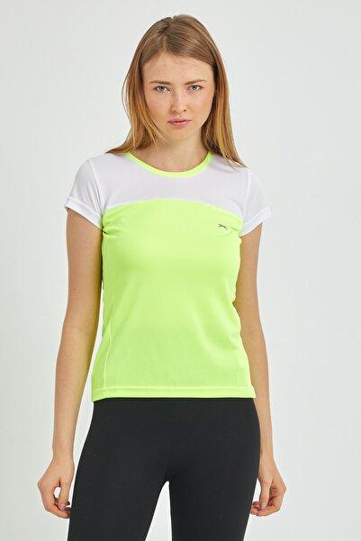 RANDERS I Kadın T-Shirt Neon Sarı ST11TK002