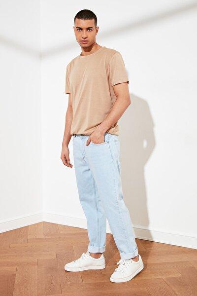 Açık Mavi Erkek Relax Fit Jeans TMNSS21JE0130