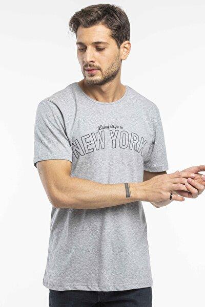 New York Yazlılı Tshirt