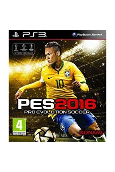 Playstation 3 Oyunu Türkçe Menü ( Pes 2016 Ps3 ) Oyun