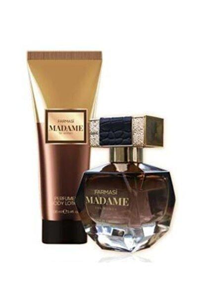 Madame Kadın Edp Parfüm 50 Ml &madame Vücut Losyonu 100 Ml