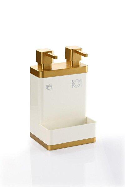 Ikili Sıvı Sabun Ve Deterjanlık (Altın)