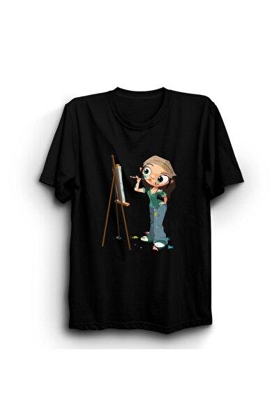 Ressam Kız T-shirt