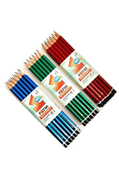 Fatih Mercanlı Kurşun Kalem Asorti Fa12010kl00 (12 Li Paket) Kbraf-5520.00294