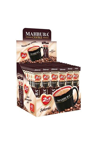 Mahbuba 2si1 Arada Kahve 48x10gr Stick Şekersiz