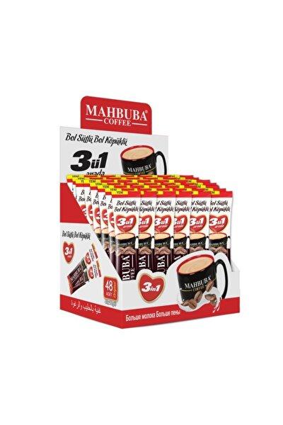 Mahbuba Bol Sütlü Bol Köpüklü 3ü1 Arada Kahve 48x18gr Stick