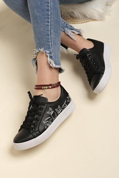 End Dsf 1224 Desenli Kadın Sneaker