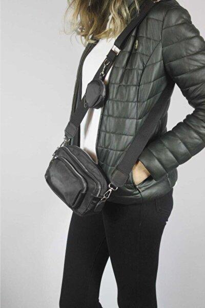 Kolon Askılı Mini Cüzdanlı Bayan Çapraz Çanta