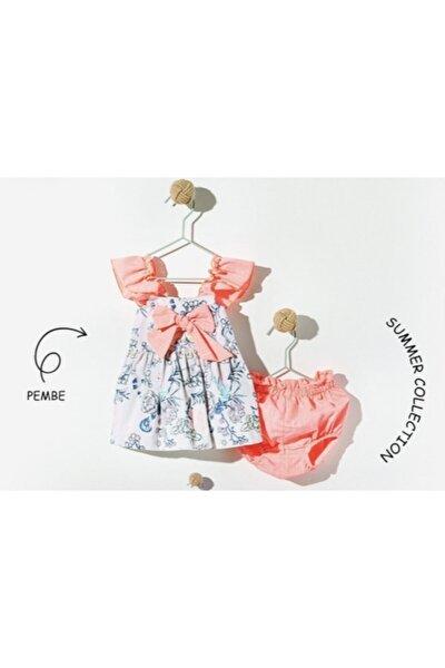 Hazar Özel Tasarım Çiçekli Bebek Takmı