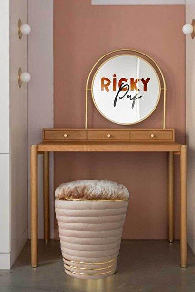 Ricky Cream - Gold Puf