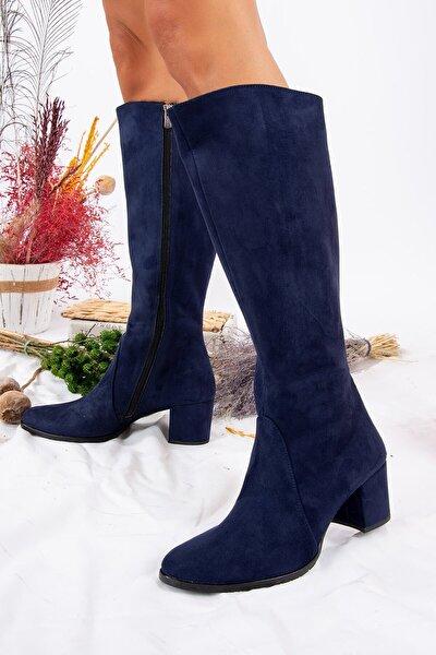 Lacivert Kadın Çizme A654252702