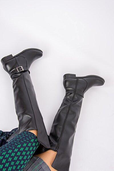 Siyah Kadın Çizme E726561809