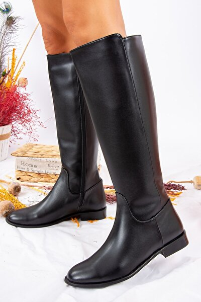 Siyah Kadın Çizme J654065609