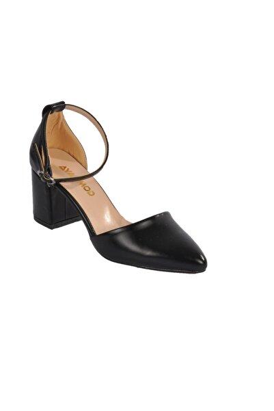 1903 Siyah Kadın Topuklu Ayakkabı