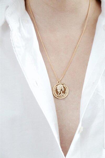 Kadın Altın Mera Madalyon